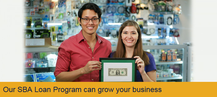 Our SBA Loan Program can grow your business