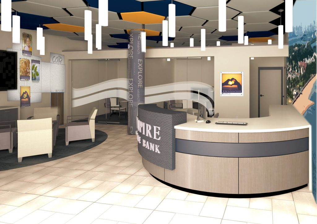 Empire State Bank Branch Design